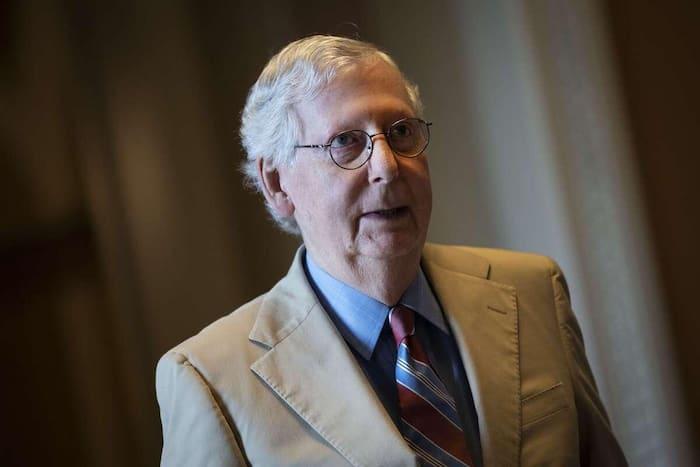 Le meneur de la minorité républicaine du sénat, Mitch McConnell