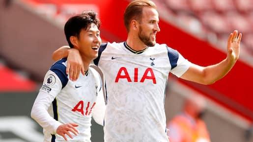 Kane et Tottenham étrillent Southampton