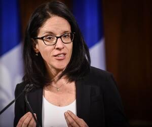 La présidente du Conseil du trésor, Sonia LeBel