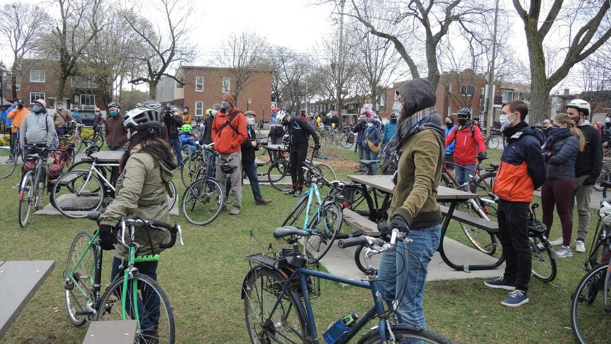 Plus de transports actifs dans la métropole, souhaitent des cyclistes