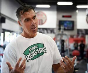 Le propriétaire du Mega Fitness Gym, Dan Marino