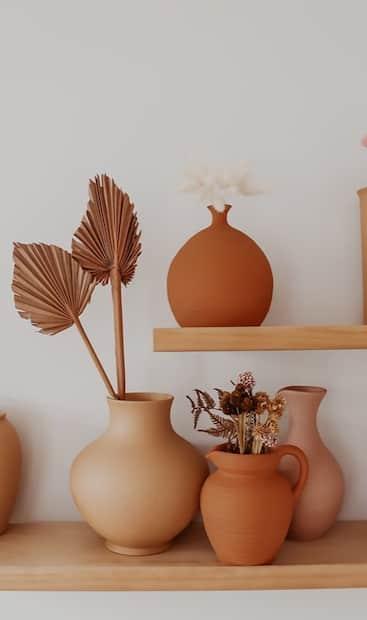 Image principale de l'article Comment donner un effet terracotta à ses vases
