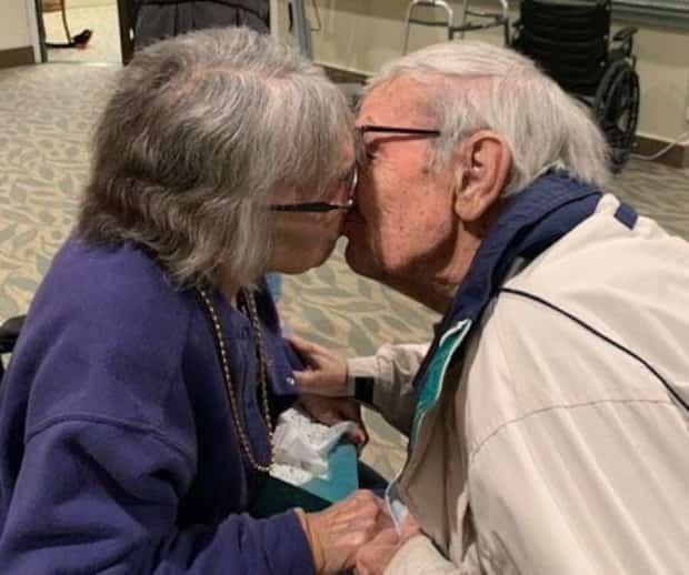 Image principale de l'article Mariés depuis 70 ans, ils sont enfin réunis