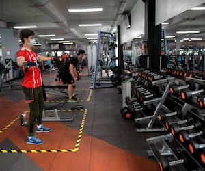 COLOMBIA-VIRUS-HEALTH-GYMS-REOPENING