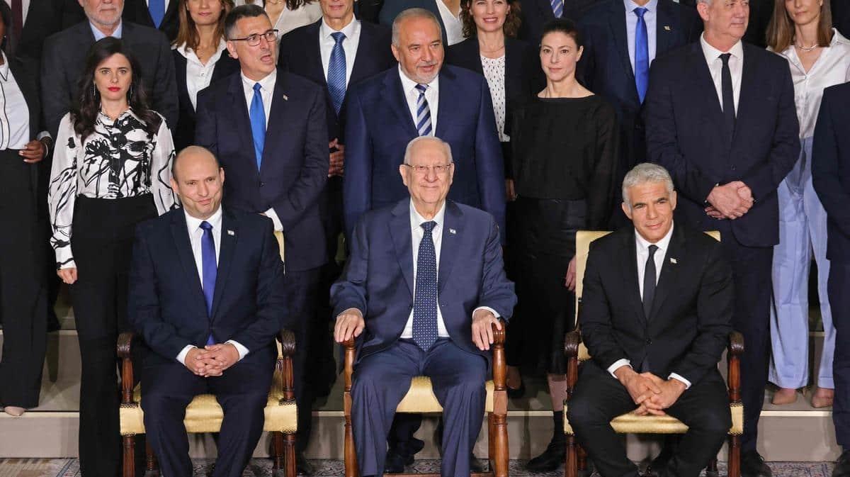 Le nouveau gouvernement entre en fonction en Israël