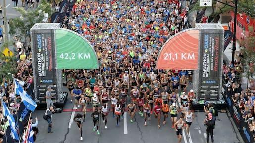Le marathon de Montréal annulé