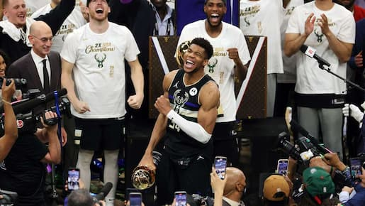 Les Bucks sont les champions de la NBA