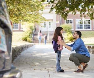 bloc papa école
