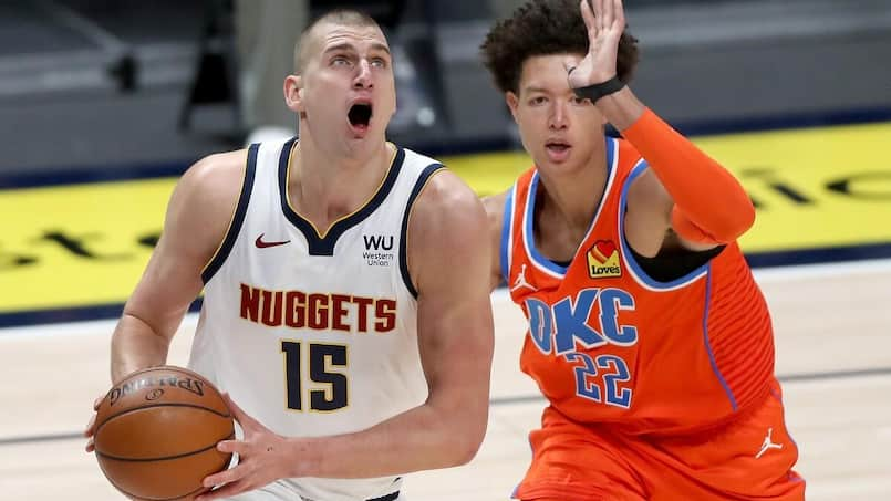 Nikola Jokic mène les Nuggets à bon port