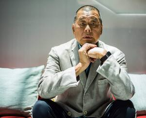Le magnat hongkongais Jimmy Lai a été arrêté.