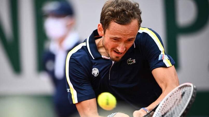 Roland-Garros: Medvedev en huitièmes pour la 1re fois