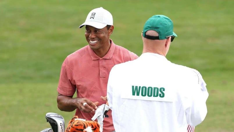 Tiger Woods partage une rare histoire