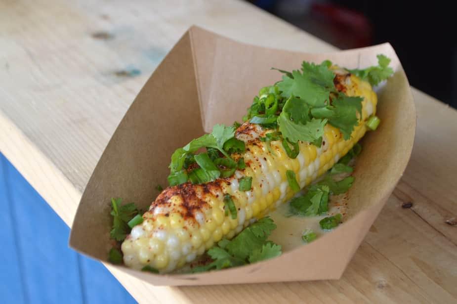Un rendez-vous mexicain est également prévu sur le site, avec les épis de maïs et les tacos du restaurant Maïs.