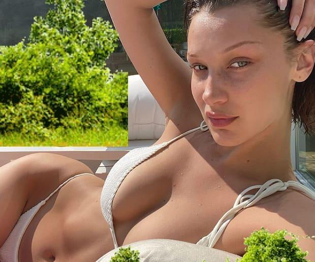 Image principale de l'article J.Lo et Bella Hadid portent le même bikini