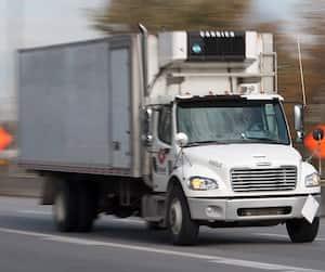 Camionneur vitesses