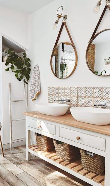 Image principale de l'article Inspiration: Salles de bain de style «farmhouse»