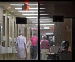 Photo prise le 2 avril 2020 au Centre d'hébergement Le Faubourg / Centre intégré universitaire de santé et de services sociaux de la Capitale-Nationale. SIMON CLARK/JOURNAL DE QUEBEC/AGENCE QMI