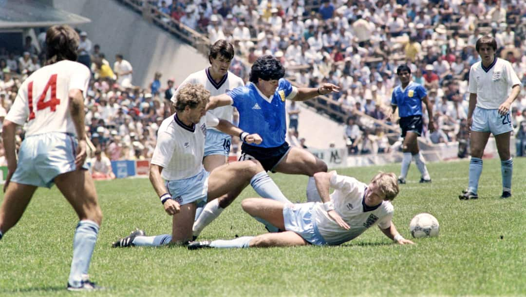 FILES-WORLD CUP-1986-ARG-ENG