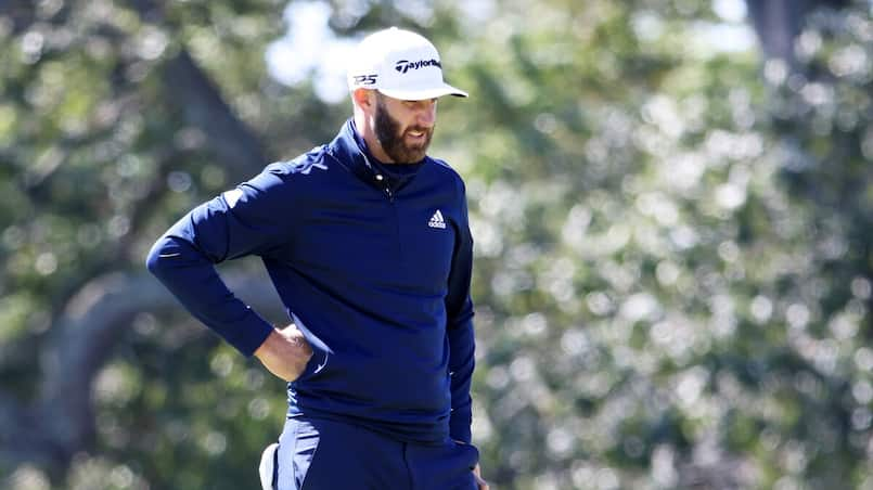 Dustin Johnson atteint de la COVID-19
