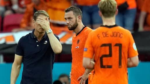 Frank de Boer «responsable» de l'élimination des Pays-Bas