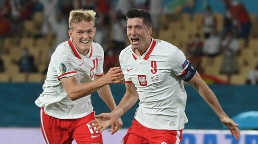 Lewandowski et la Pologne neutralisent l'Espagne