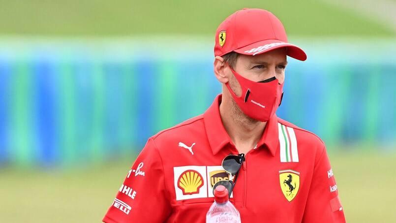 Vettel discute avec Racing Point