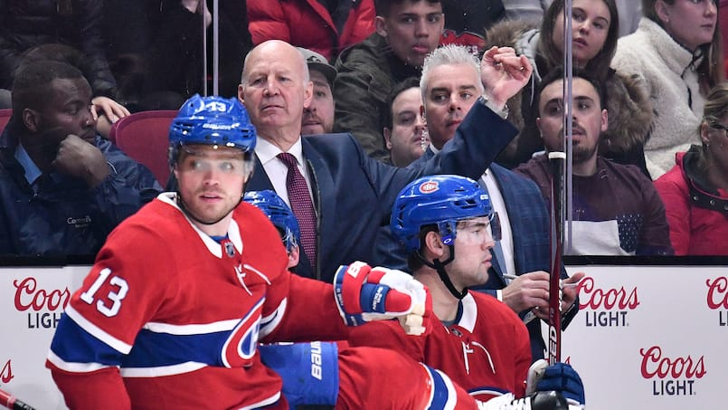 Blue Jackets c. Canadiens