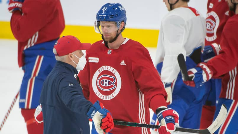 Entrainement Canadiens