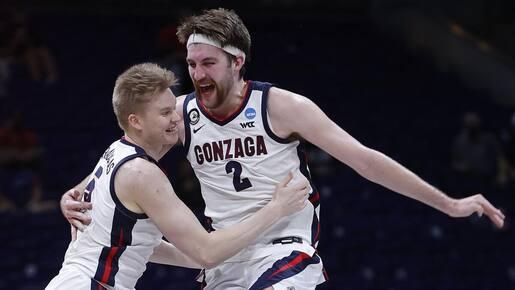 Gonzaga domine et atteint le Final Four