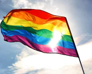 Drapeau LGBT LGBTQ+ Fierté gaie
