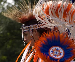 Le Pow Wow, une cérémonie traditionnelle des Premières Nations.