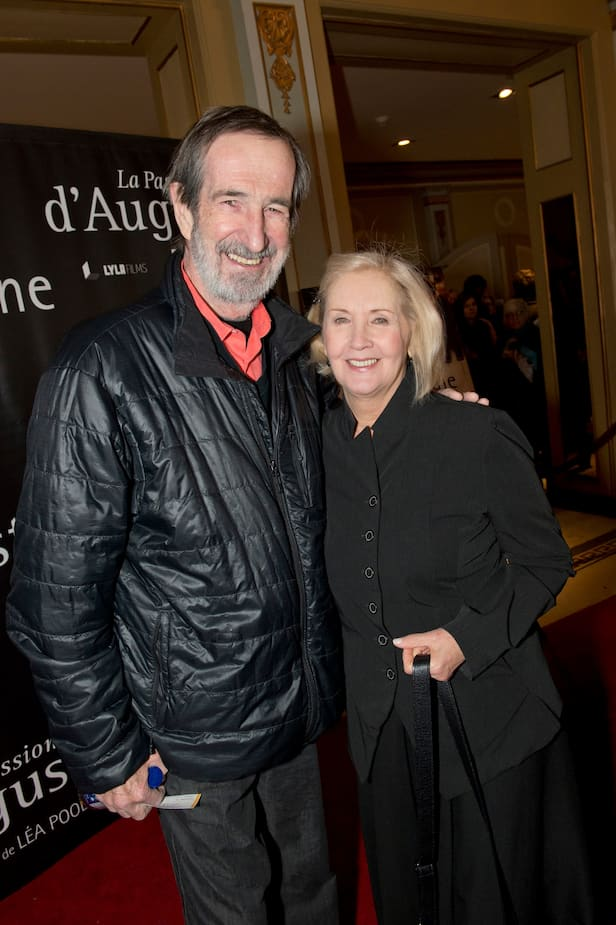 En 2015, avec son conjoint et réalisateur, André Melançon, décédé en août 2016.