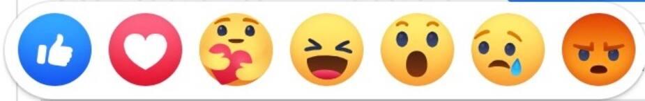 Facebook Ajoute Un Calin Avec Un Coeur A Ses Reactions Et Tout Le Monde Le Veut Le Sac De Chips