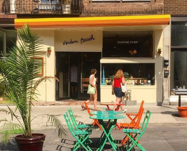 Image principale de l'article Bar Verdun Beach: un nouveau bar à vin coloré
