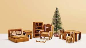 Image principale de l'article Recréez les meubles IKEA en version pain d'épice