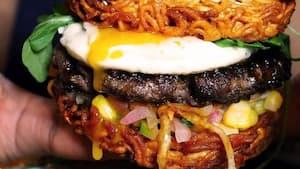 Image principale de l'article Un «burger ramen» dans ce resto de Montréal