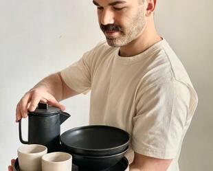Image principale de l'article Ce potier montréalais fait rêver avec sa vaisselle