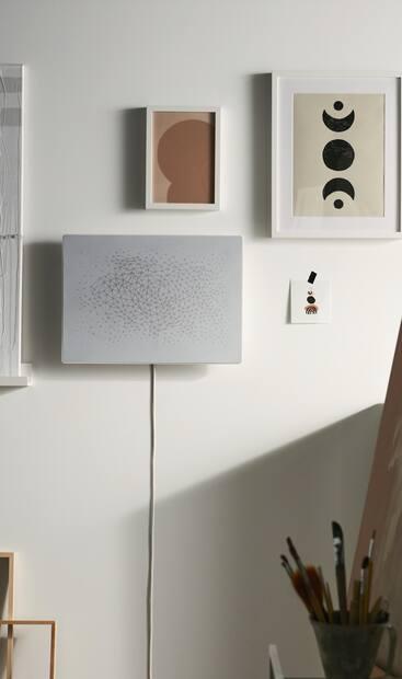 Image principale de l'article IKEA dévoile un cadre haut-parleur Wi-Fi