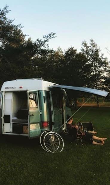 Image principale de l'article Une plateforme pour savoir où stationner sa van