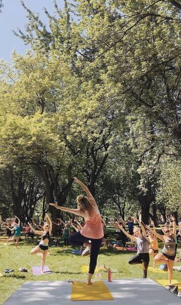 Image principale de l'article Des cours de yoga gratuits tout l'été