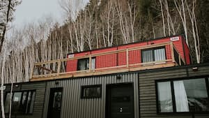 Image principale de l'article Des mini-hébergements avec vue sur le mont Rigaud