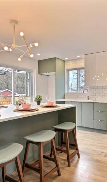 Image principale de l'article Un ancien duplex transformé en maison à vendre
