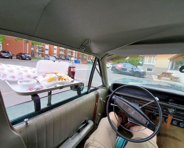 Image principale de l'article Un resto de Québec transformé en «drive-in»