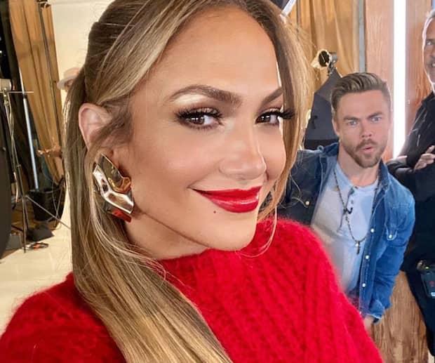 Image principale de l'article Jennifer Lopez partage une photo sans maquillage