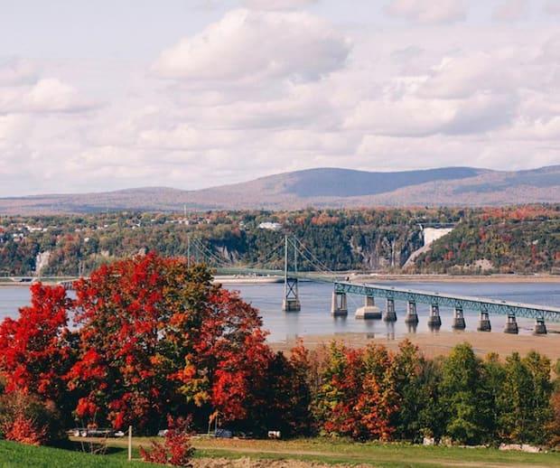 Image principale de l'article Les images du nouveau pont de l'île d'Orléans