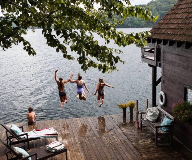 Image principale de l'article Une remise de bateau restaurée à vendre