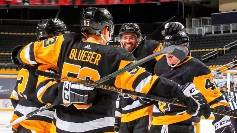 Les Penguins l'emportent en tirs de barrage