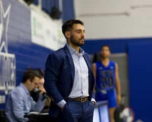 Le nouveau membre du personnel d'entraîneurs des BlackJacks d'Ottawa Vincent Plante.