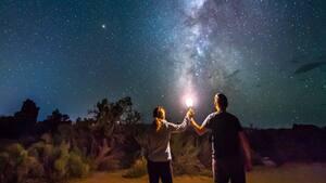 Image principale de l'article Une pluie d'étoiles filantes visibles en avril