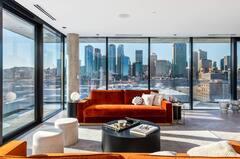 Centre-ville de Montréal: condo au sommet du luxe urbain avec une vue imprenable